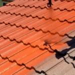 Application de peinture RENOTEC sur le toit