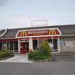 Toit de McDonalds avant d'appliquer RENOTEC