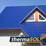 toit traité avec thermaSOL - aprés - blue