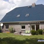 Maison traitée avec thermasol - bleu