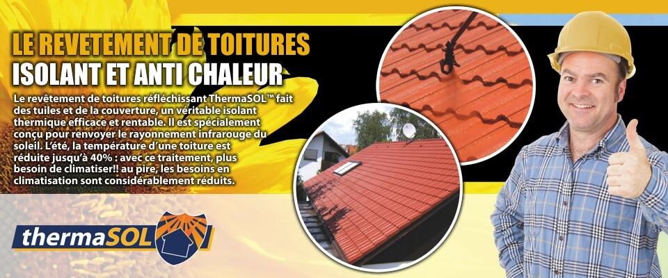 thermasol - le revetement de toitures isolant et anti chaleur